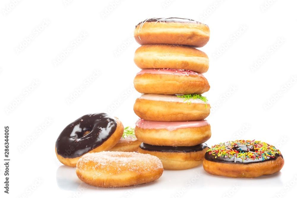 Obraz Stack of Donuts fototapeta, plakat