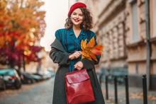 Outdoor Autumn Portrait Of You...