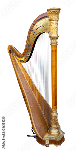 Canvastavla Harp