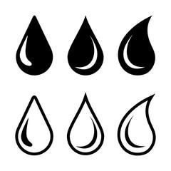 kropla zestaw ikon