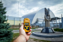 Monument In Chernobyl