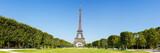 Fototapeta Fototapety z wieżą Eiffla - Paris Eiffel tower panorama France panoramic view travel
