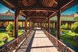 Hue imperial palace and Royal Tombs in Vietnam