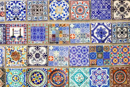 Azulejo portugal mosaic tile Wallpaper Mural