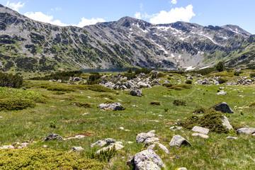 Fototapeta na wymiar Landscape near The Fish Lakes, Rila mountain, Bulgaria