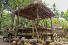Bamboo Gazebo With Alang Alang...