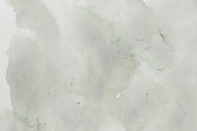 Abstract Grey Splotchy Ink Watercolor Paper Background