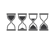 Sand Clock Icon Vector Illustr...