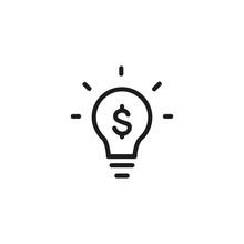 Creative Value Line Icon. Fina...