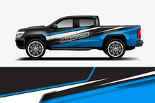 Truck And Car Decal Design Vec...