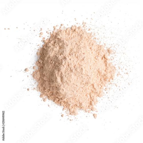 Fotografía Foundation powder makeup on background
