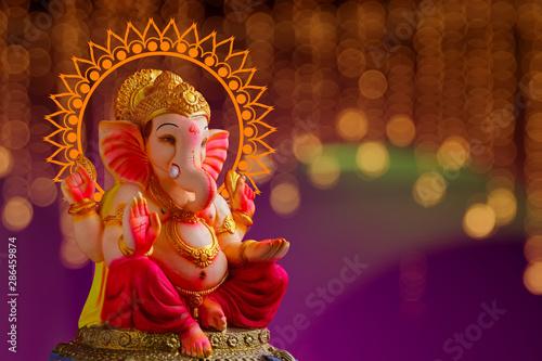 Lord Ganesha , Ganesh festival фототапет