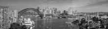 Downtown Sydney Skyline In Aus...