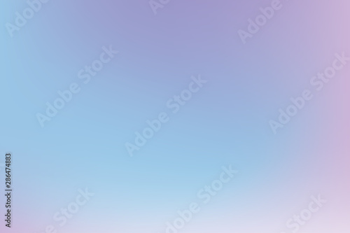Fototapety, obrazy: Pastel multicolored gradient background. Blurred backdrop