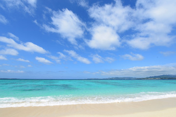 美しい沖縄の海