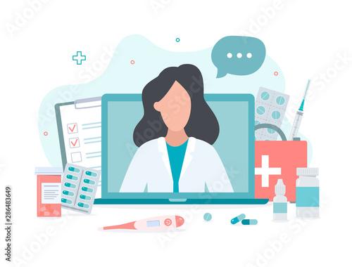 Cuadros en Lienzo Online doctor concept