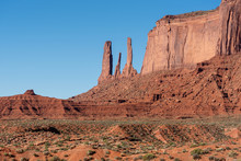 The Elephant In Monument Valley