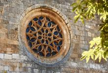 Gothic Rose Window Of Covarrub...