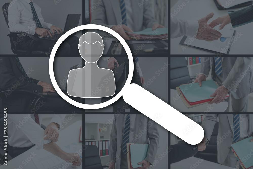 Fototapety, obrazy: Concept of recruitment
