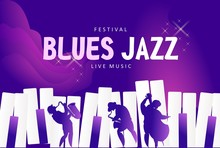 Blues Jazz Banner