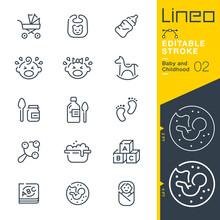 Lineo Editable Stroke - Baby A...