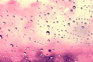 pink background drops glass abstract texture