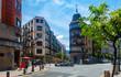 Bilbao city streets