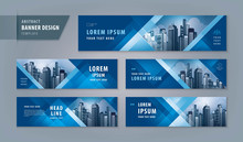 Abstract Banner Design Web Tem...