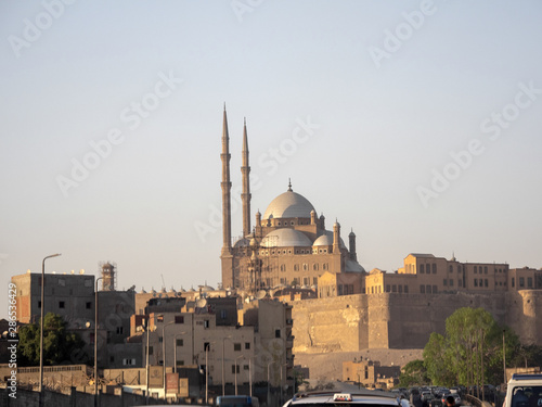 The Mohammed Ali Mosque is a landmark of the city of Cairo, Egypt Wallpaper Mural