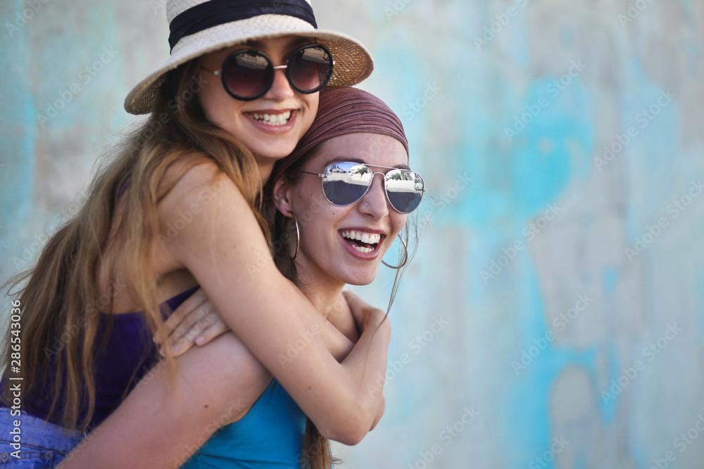 Fototapeta Friends of summer