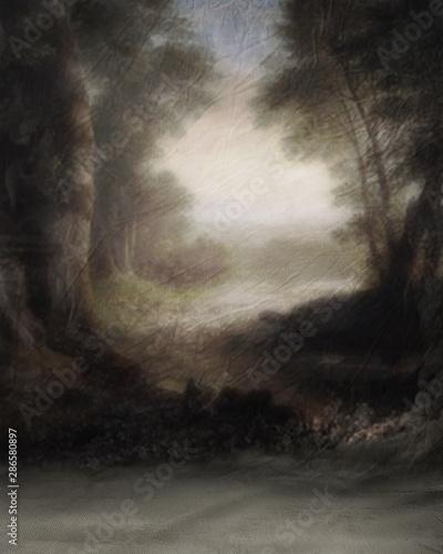 Canvas Background Studio Portrait Backdrops 4K