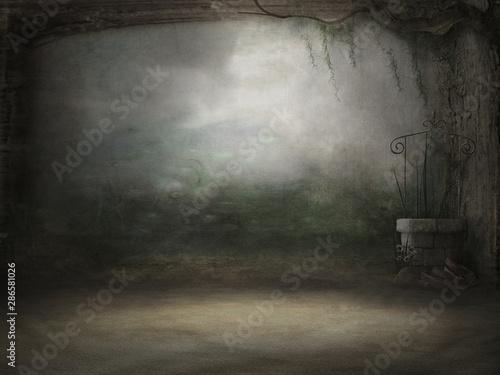Background Studio Portrait Backdrops 4K Fototapet