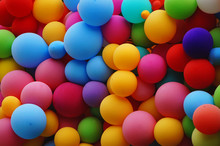 Colorful Balloon Of Different ...