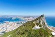 The Rock Gibraltar copyspace copy space landscape travel town traveling