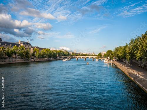 Riviere Paris pont