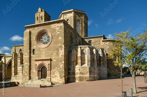 La Seu Vella cathedral in Lleida Catalonia Spain.