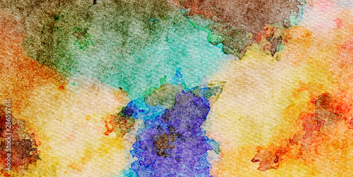 Fototapety, obrazy: Oil pastel drawing. Abstract color background. Fine art print. Impressionism style abstraction. Modern surrealism painting. Good as wall decor poster. Stock. Surreal design. Handmade texture template.