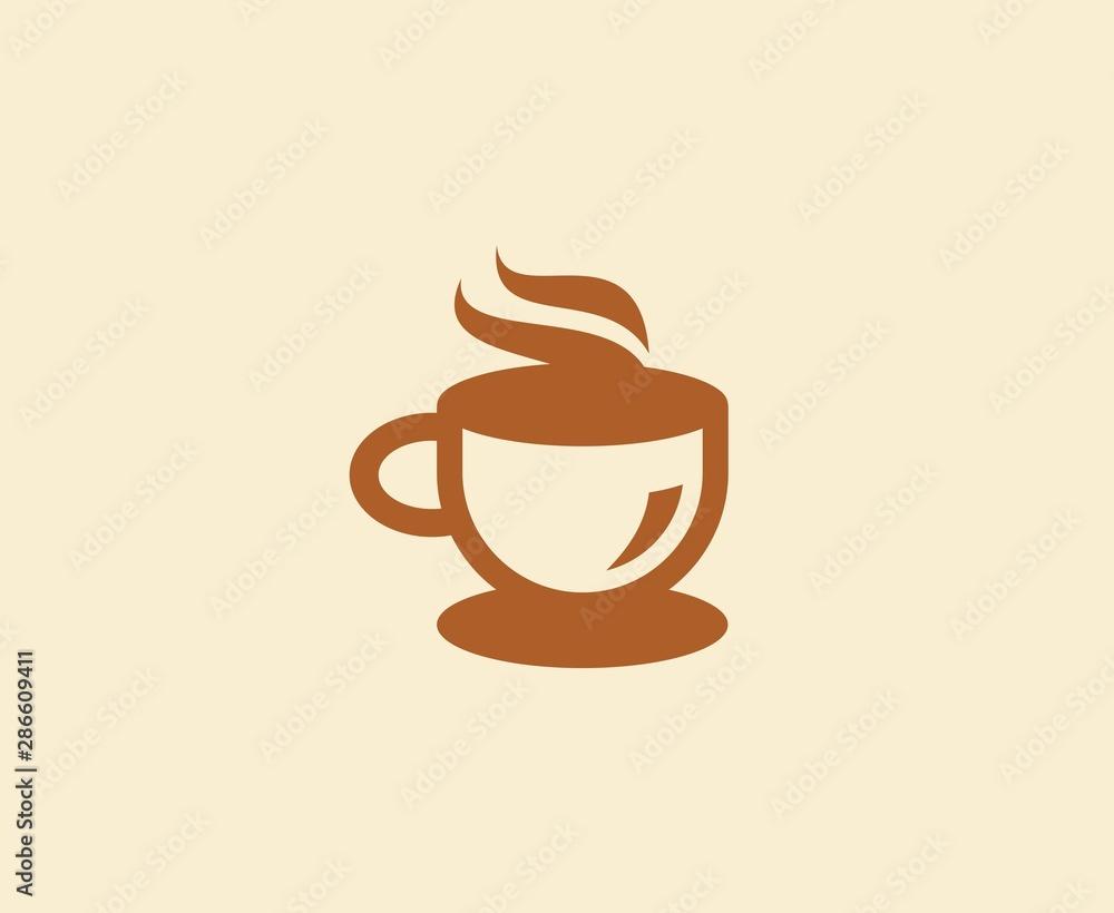 Fototapety, obrazy: Coffee logo