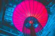 Leinwanddruck Bild - Chinatown design week by night in Bangkok Thailand