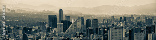 Fotografia  Mexico City Panoramic Skyline Cityscape