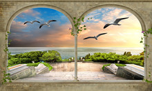 3d Nature Wallpaper And Background Stone Brick