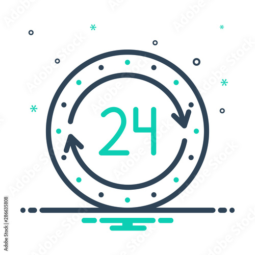 Photo mix icon for 24h agency