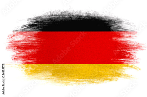 Germany flag in grunge style Fototapet