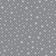 Seamless pattern with falling snow or snowflakes on transparent background. vector.