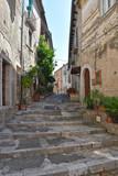 Fototapeta Uliczki - A day of vacation in San Lorenzello, a small Italian village