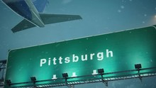 Airplane Take Off Pittsburgh I...