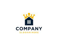 House King Logo Design Template