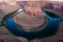 Horseshoe Bend Of The Colorado At Dawn
