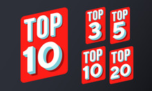 Top 10, 3, 5, 20 Rating Chart ...