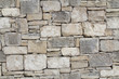 Dry stone wall as seamless background
